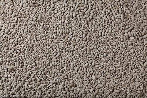 fine gravel from diatomite